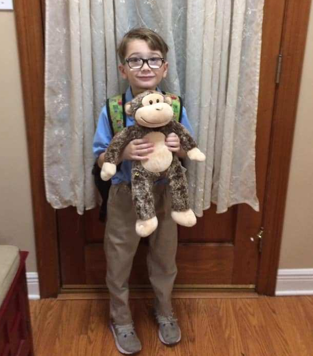 Noah's 1st Day of School